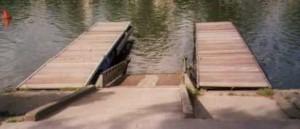 slip et cabestan pour mise à l'eau des bateaux dériveurs